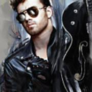 George Michael Singer Art Print