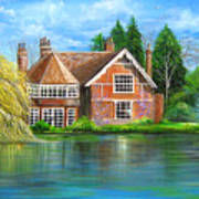George Michaels Estate In Goring,england Art Print