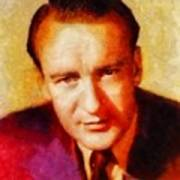 George Sanders, Vintage Hollywood Actor Art Print