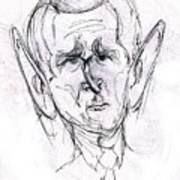 George W. Bush Art Print