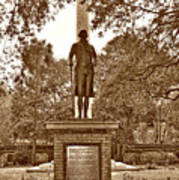 George Washington, Charleston,sc Art Print
