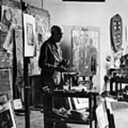 Georges Braque (1882-1963) Art Print