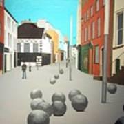 George's Street, Waterford Art Print