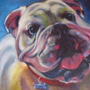 Georgia Bulldog Art Print