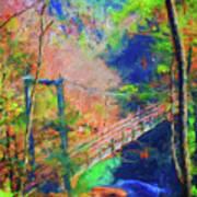 Georgia Gorge Art Print