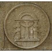Georgia Seal Art Print