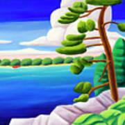 Georgian Bay Shores II Art Print
