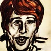Georgie Fame Portrait Art Print