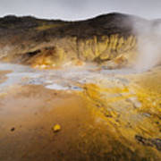 Geothermal Area Art Print