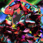 Geranium Gone Wild Art Print
