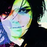 Gerard Way My Chemical Romance  Art Print