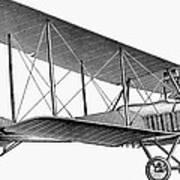German Airplane, 1913 Art Print