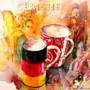 German Mugs And Christie Art Print