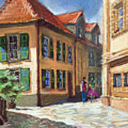 Germany Baden-baden 04 Art Print