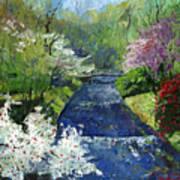 Germany Baden-baden Spring Art Print by Yuriy  Shevchuk
