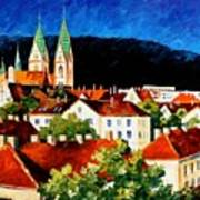 Germany Freiburg Art Print
