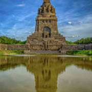 Germany - Monument To The Battle Of The Nations In Leipzig, Saxony Art Print