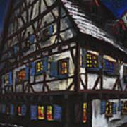 Germany Ulm Fischer Viertel Schwor-haus Art Print