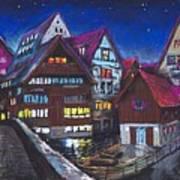 Germany Ulm Fischer Viertel Art Print