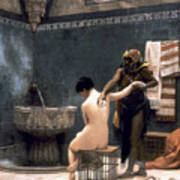 Gerome: The Bath, 1880 Art Print