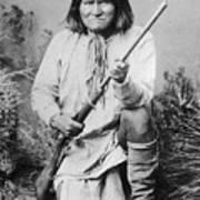 Geronimo Apache Indian Native American Art Print