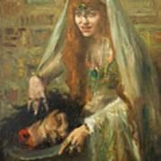 Gertrud Eysoldt As Salome Art Print