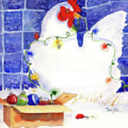 Gertrude Decorating Art Print