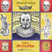 Gesualdo Art Print by Paul Helm