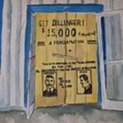 Get Dillinger Art Print