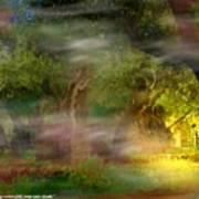 Gethsemane Vision-2008 Art Print