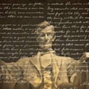 Gettysburg Address Art Print