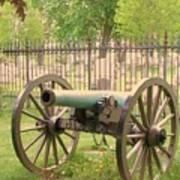 Gettysburg Cannon Cemetery Hill Art Print