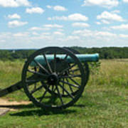 Gettysburg Cannon Art Print by Kevin Croitz