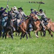 Gettysburg Cavalry Battle 7948c  Art Print
