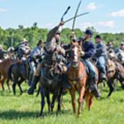 Gettysburg Cavalry Battle 7992c  Art Print
