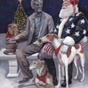 Gettysburg Christmas Art Print