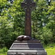 Gettysburg Irish Brigade Monument Art Print