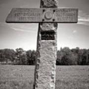 Gettysburg National Park 142nd Pennsylvania Infantry Monument Art Print
