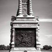 Gettysburg National Park 6th New York Cavalry Monument Art Print