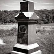 Gettysburg National Park 6th Wisconsin Iron Brigade Monument Art Print