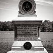 Gettysburg National Park 80th New York Infantry Militia Monument Art Print
