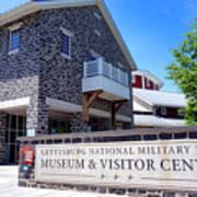 Gettysburg National Park Museum And Visitor Center Art Print