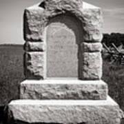 Gettysburg National Park Third West Virginia Cavalry Monument Art Print