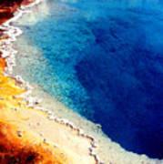 Geyser Basin Art Print