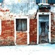 Ghetto Living  Venice Art Print
