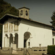 Ghisallo Chapel Art Print