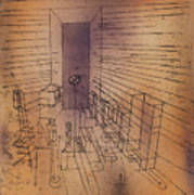 Ghost Chamber With The Tall Door New Version Art Print