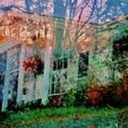 Ghost House Bold Art Print
