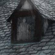 Ghost Rain Art Print