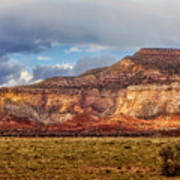 Ghost Ranch Red Art Print